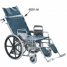 tuffy wide reclining wheelchairs by performance health medline