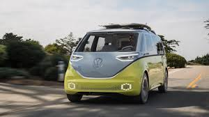 volkswagen minibus electric the legendary volkswagen kombi gets futuristic high tech all
