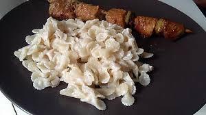 cuisine pates recette de minis pâtes au moret et jambon