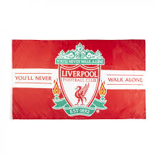 Flag Store Online Liverpool Fc Crest Flag Liverpool Fc Official Store