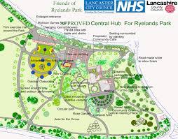Lancaster Map Ryelands Park Lancaster City Council