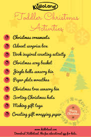 christmas craft activities for toddlers kidloland