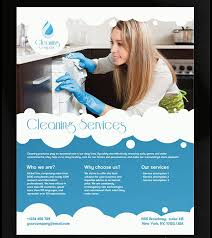 cleaning brochure templates free fieldstation co