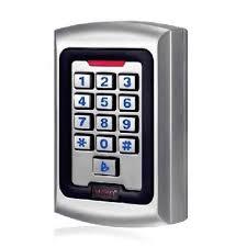 Security Garage Door by Aleko Lm177 Universal Metal Wired Keypad Security Garage Door Gate