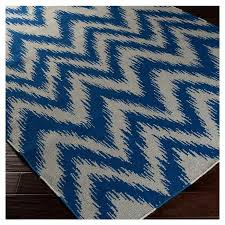 Zig Zag Area Rug Zipcode Design Marion Dark Blue Dove Grey Zig Zag Area Rug