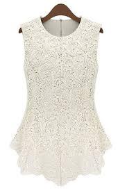 white lace blouses blouses blouse chiffon lace blouse luulla