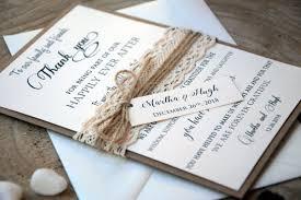 custom thank you cards wedding thank you cards rustic thank you cards wedding lace