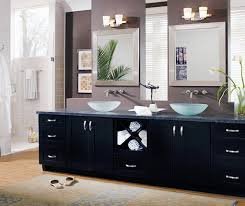 Black Bathroom Vanity With Sink by Ideas For Black Bathroom Cabinets And Storage Spaces