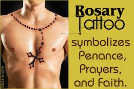 tribal cross tattoo designs and the meaning behind them 15 intriguing rosary tattoo designs and their sacred meanings