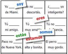 ser y estar in spanish worksheet 1 spanish worksheets in