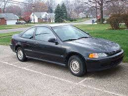1995 honda civic dx coupe car insurance info