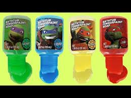 Tmnt Bathroom Set Teenage Mutant Ninja Turtles Tmnt Bathtub Paint Set Learn Colors