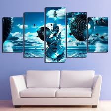 online get cheap frozen canvas pictures aliexpress com alibaba wall art home decoration frame canvas painting poster 5 pieces musical instrument frozen guitar for living room modern pictures