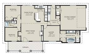 4 Bedroom Ranch Floor Plans 3 Bedroom Bath House Plans Home Planning Ideas 2017 4 Bed 1 2
