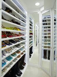 Shoe Closet With Doors Shoe Racks For Closets Hgtv