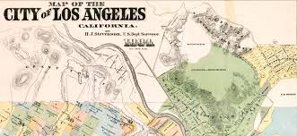 Map Los Angeles Ca by Historical Research Maps Los Angeles Family Tree