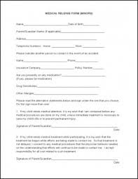 medical record release form sample u2013 templates free printable