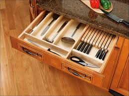 kitchen pan organizer for cabinet silverware drawer insert