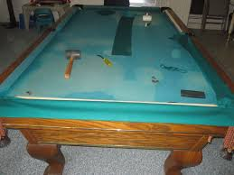 refelting a pool table services