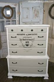 How To Paint Furniture White by How To Transfer An Image Onto Furniture Tutorial The
