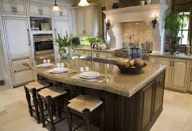 built in kitchen islands with seating 39 fabulous eat in custom kitchen designs gourmet islands