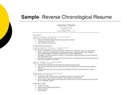 Example Of Chronological Resume by Creating Professional Resumes U0026 Cover Letters