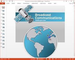 animated telecom u0026 communication powerpoint templates