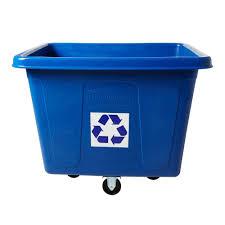 wheels trash cans trash u0026 recycling the home depot