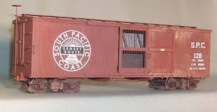 box car ozark miniatures detail parts for the garden railroader