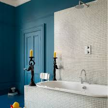 Blue Bathrooms  Cool Blue Bathroom Design Ideas Digsdigs Home - Blue bathroom design
