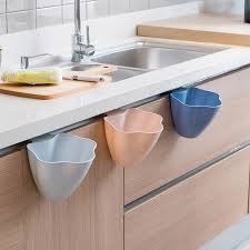 kitchen cabinet waste bins new kitchen cabinet door hanging trash garbage bin can rubbish