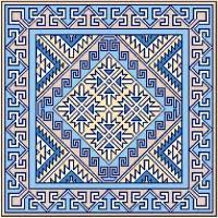 geometric needlepoint designs 107 best canvases i images on