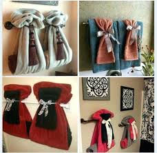 Towel Rack Ideas For Bathroom Bathroom Towel Ideas Best Bathroom Towel Display Ideas On Bath