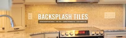 Glass Backsplash In Kitchen Glass Mosaic Tile Kitchen Backsplashes Subway Glass Tiles