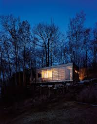 flashback sunset cabin taylor smyth architects canada