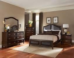homelegance beaux low profile bedroom set with vinyl insert