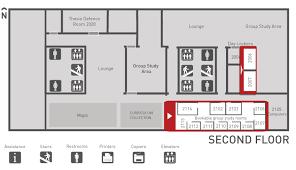 room floor plan floor plans study rooms wac library sfu library