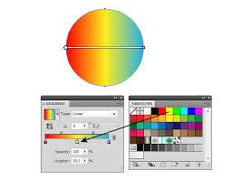 tutorial illustrator gradient how to control gradient fills in adobe illustrator designmodo