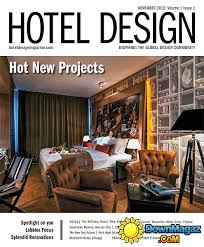 Home Design Magazines Pdf Hotel Design Magazine November 2013 Download Pdf Magazines
