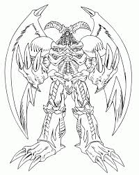 yu gi oh coloring pages the great beings of the yu gi oh 237574 yu