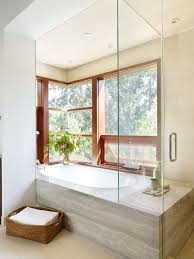 Glass Bathtub Enclosures Frameless Glass Tub Enclosure Houzz