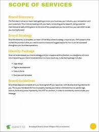 moving proposal template business proposal template example