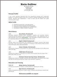 resume blank template curriculum vitae format for uk curriculum vitae exle format free