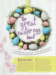 Easter Scavenger Hunt Tesco Magazine April 2017 By Tesco Magazine Issuu