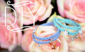 braided bracelet with charms images Diy braided charm bracelets jpg