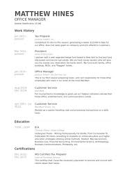 Resume For Self Employed Sample by Tax Preparer Resume Samples Visualcv Resume Samples Database