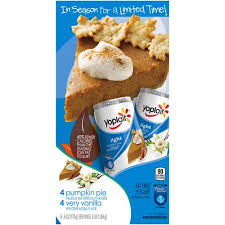 yoplait light yogurt ingredients yoplait light pumpkin pie very vanilla fat free yogurt variety pack