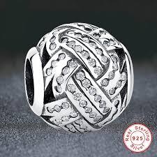 sterling silver beads pandora bracelet images European charm fit pandora bracelet love knot silver beads with jpg