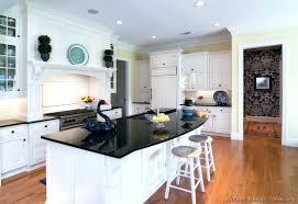 Kitchen Design Black Appliances Kitchen Design White Cabinets U2013 Colorviewfinder Co