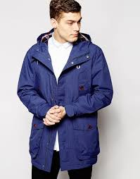 Peter Parka Fred Perry Parka With Check Lined Hood Where To Buy U0026 How To Wear